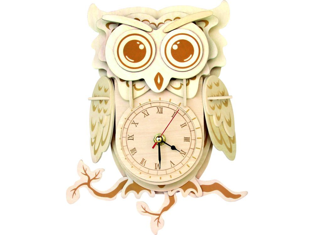 Чудо-Дерево Конструктор «Часы «Мудрая сова» F009