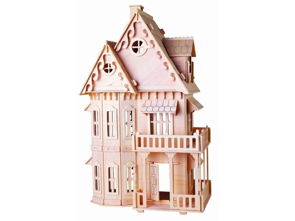 Конструктор «Готический дом (малый)»Сборные деревянные модели<br>Конструкторы от производителя Чудо-дерево для детей и взрослых, для подарка и личного интересного досуга – теперь на Цветное.ру. Многообразие моделей позволит сделать выбор даже самому требовательному покупателю. <br> <br> Приобретая конструктор от производит...<br><br>Артикул: G-DH001<br>Вес: 1,36 кг<br>Размер готовой модели: 45,5x29x16,5 см<br>Материал: Дерево<br>Упаковка: прозрачная пленка<br>Размер упаковки: 22,5 x 3,0 x 36,5 см<br>Количество пластин заготовок шт: 10<br>Размер пластин: 36,5x22,5x0,3 см<br>Возраст: от 5 лет