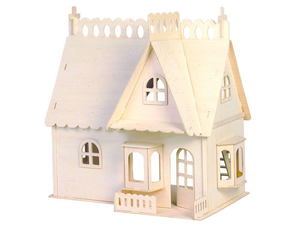Конструктор «Дом с портиком (малый)»Сборные деревянные модели<br>Конструкторы от производителя Чудо-дерево для детей и взрослых, для подарка и личного интересного досуга – теперь на Цветное.ру. Многообразие моделей позволит сделать выбор даже самому требовательному покупателю. <br> <br> Приобретая конструктор от производит...<br><br>Артикул: G-DH002<br>Вес: 0,95 кг<br>Размер готовой модели: 22,3x23,8x15,7 см<br>Материал: Дерево<br>Упаковка: прозрачная пленка<br>Размер упаковки: 22,5 x 2,1 x 36,5 см<br>Количество пластин заготовок шт: 8<br>Размер пластин: 36,5x22,5x0,3 см<br>Возраст: от 5 лет