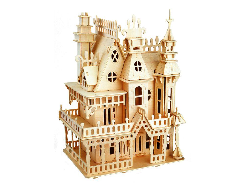 Конструктор «Королевская вилла»Сборные деревянные модели<br>Конструкторы от производителя Чудо-дерево для детей и взрослых, для подарка и личного интересного досуга – теперь на Цветное.ру. Многообразие моделей позволит сделать выбор даже самому требовательному покупателю. <br> <br> Приобретая конструктор от производит...<br><br>Артикул: G-DH004<br>Вес: 1,36 кг<br>Размер готовой модели: 25,5x19,1x13,7 см<br>Материал: Дерево<br>Упаковка: картонная коробка<br>Размер упаковки: 22,5 x 3,0 x 36,5 см<br>Количество пластин заготовок шт: 10<br>Размер пластин: 36,5x22,5x0,3 см<br>Возраст: от 5 лет