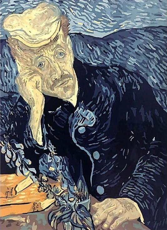 «Портрет доктора Гаше» Ван ГогаPaintboy (Premium)<br><br><br>Артикул: G320<br>Основа: Холст<br>Сложность: сложные<br>Размер: 40x50 см<br>Количество цветов: 26<br>Техника рисовани: Без смешивани красок