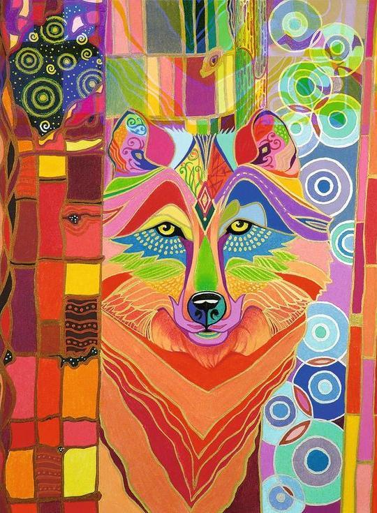 Картина по номерам «Абстрактный волк»Paintboy (Premium)<br><br><br>Артикул: GX3005<br>Основа: Холст<br>Сложность: средние<br>Размер: 40x50 см<br>Количество цветов: 26<br>Техника рисования: Без смешивания красок