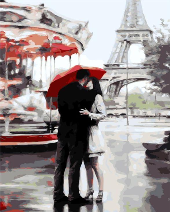 Картина по номерам «Наш Париж» Даниэля дель ОрфаноPaintboy (Premium)<br><br><br>Артикул: GX3015<br>Основа: Холст<br>Сложность: сложные<br>Размер: 40x50 см<br>Количество цветов: 25<br>Техника рисования: Без смешивания красок