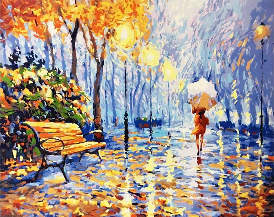 «Дыхание осени» Дмитрия СпиросаPaintboy (Premium)<br><br><br>Артикул: GX9931<br>Основа: Холст<br>Сложность: средние<br>Размер: 40x50<br>Количество цветов: 27<br>Техника рисования: Без смешивания красок