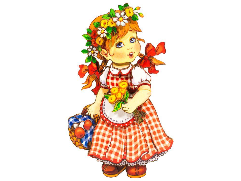 Папертоль «Девочка с корзинкой»