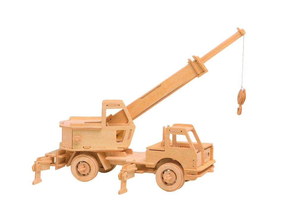 Конструктор «Подъемный кран»Сборные деревянные модели<br>Конструкторы от производителя Чудо-дерево для детей и взрослых, для подарка и личного интересного досуга – теперь на Цветное.ру. Многообразие моделей позволит сделать выбор даже самому требовательному покупателю. <br> <br> Приобретая конструктор от производит...<br><br>Артикул: P028<br>Вес: 0,42 кг<br>Размер готовой модели: 22,5x34x17,5 см<br>Материал: Дерево<br>Упаковка: прозрачная пленка<br>Размер упаковки: 37,0 x 0,9 x 23,0 см<br>Количество пластин заготовок шт: 3<br>Размер пластин: 23x37x0,3 см<br>Возраст: от 5 лет