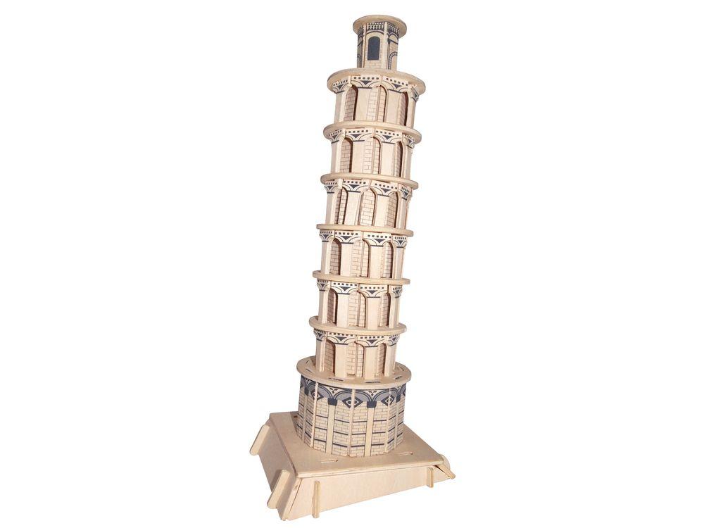 Конструктор «Пизанская башня»Сборные деревянные модели<br>Конструкторы от производителя Чудо-дерево для детей и взрослых, для подарка и личного интересного досуга – теперь на Цветное.ру. Многообразие моделей позволит сделать выбор даже самому требовательному покупателю. <br> <br> Приобретая конструктор от производит...<br><br>Артикул: P172<br>Вес: 0,42 кг<br>Размер готовой модели: 12,5x11,5x30 см<br>Материал: Дерево<br>Упаковка: прозрачная пленка<br>Размер упаковки: 37,0 x 0,9 x 23,0 см<br>Количество пластин заготовок шт: 3<br>Размер пластин: 23x37x0,3 см<br>Возраст: от 5 лет