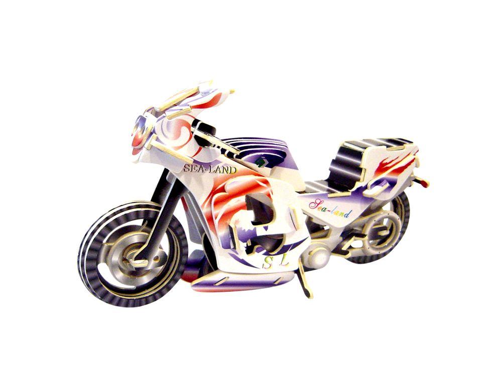 Чудо-Дерево Конструктор «Гоночный мотоцикл (цветной)» PC023