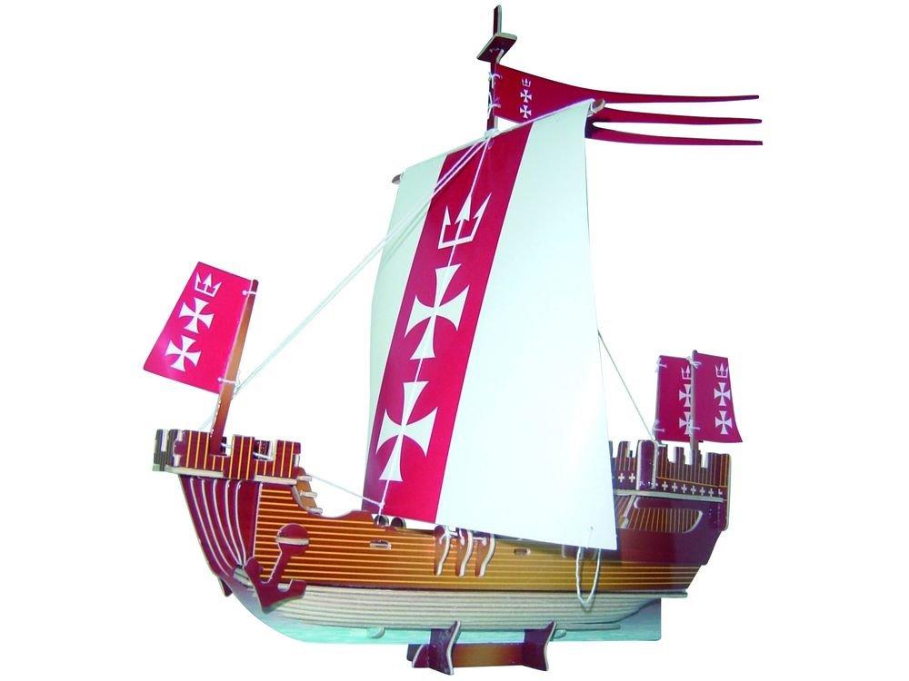Чудо-Дерево Конструктор «Ганзейский парусник (цветной)» PC129