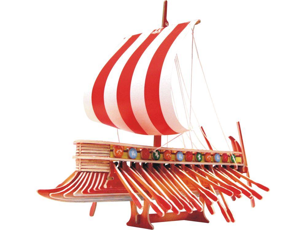 Конструктор «Финикийский парусник (цветной)»Сборные деревянные модели<br>Конструкторы от производителя Чудо-дерево для детей и взрослых, для подарка и личного интересного досуга – теперь на Цветное.ру. Многообразие моделей позволит сделать выбор даже самому требовательному покупателю. <br> <br> Приобретая конструктор от производит...<br><br>Артикул: PC130<br>Вес: 0,56 кг<br>Размер готовой модели: 16x37x7 см<br>Материал: Дерево<br>Упаковка: прозрачная пленка<br>Размер упаковки: 37,0 x 1,2 x 23,0 см<br>Количество пластин заготовок шт: 4<br>Размер пластин: 23x37x0,3 см<br>Возраст: от 5 лет