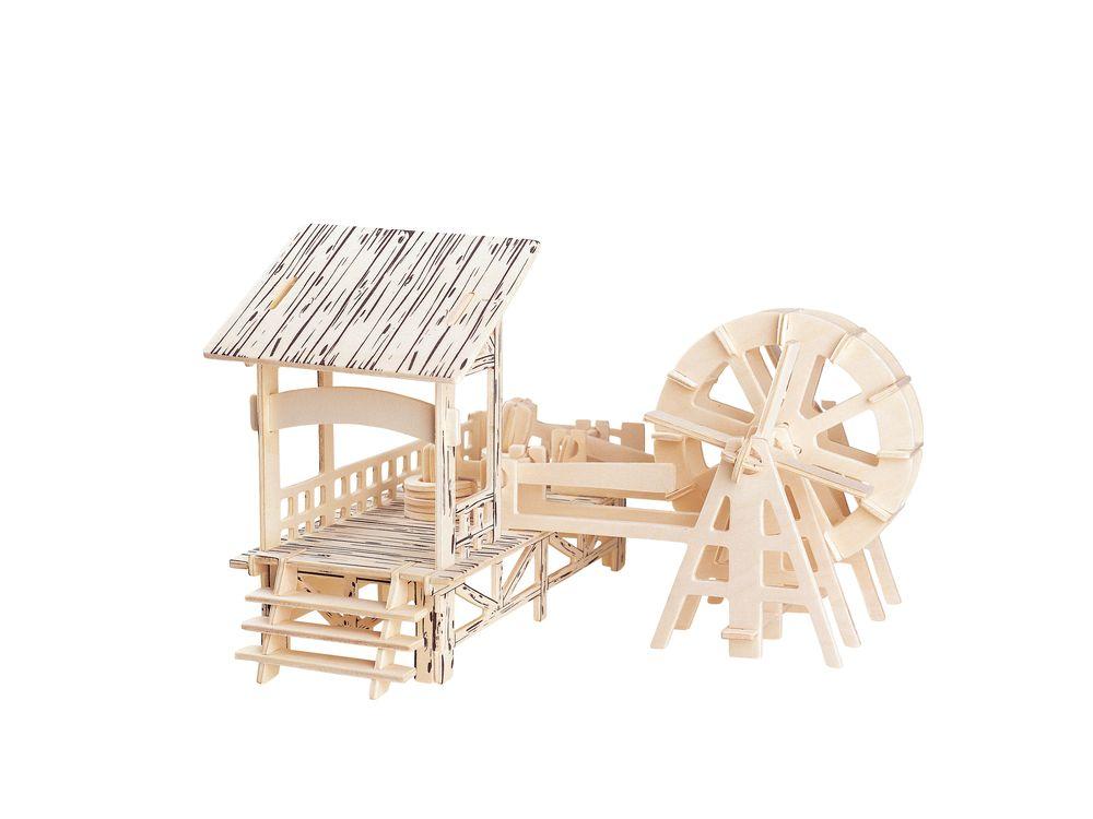 Конструктор «Водяная мельница»Сборные деревянные модели<br>Конструкторы от производителя Чудо-дерево для детей и взрослых, для подарка и личного интересного досуга – теперь на Цветное.ру. Многообразие моделей позволит сделать выбор даже самому требовательному покупателю. <br> <br> Приобретая конструктор от производит...<br><br>Артикул: PH005<br>Вес: 0,42 кг<br>Размер готовой модели: 15,5x23x23 см<br>Материал: Дерево<br>Упаковка: прозрачная пленка<br>Размер упаковки: 37,0 x 0,9 x 23,0 см<br>Количество пластин заготовок шт: 3<br>Размер пластин: 23x37x0,3 см<br>Возраст: от 5 лет