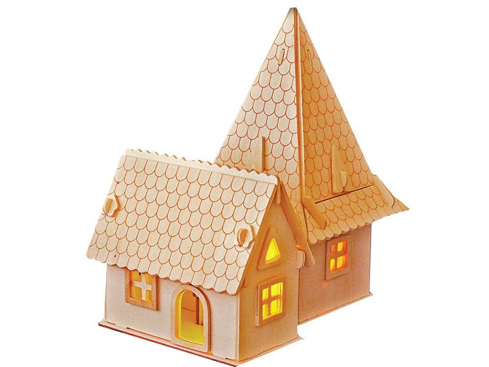 Конструктор «Гостевой дом»Сборные деревянные модели<br>Конструкторы от производителя Чудо-дерево для детей и взрослых, для подарка и личного интересного досуга – теперь на Цветное.ру. Многообразие моделей позволит сделать выбор даже самому требовательному покупателю. <br> <br> Приобретая конструктор от производит...<br><br>Артикул: PH064<br>Вес: 0,42 кг<br>Размер готовой модели: 20,5x13,2x22 см<br>Материал: Дерево<br>Упаковка: прозрачная пленка<br>Размер упаковки: 37,0 x 0,9 x 23,0 см<br>Количество пластин заготовок шт: 3<br>Размер пластин: 23x37x0,3 см