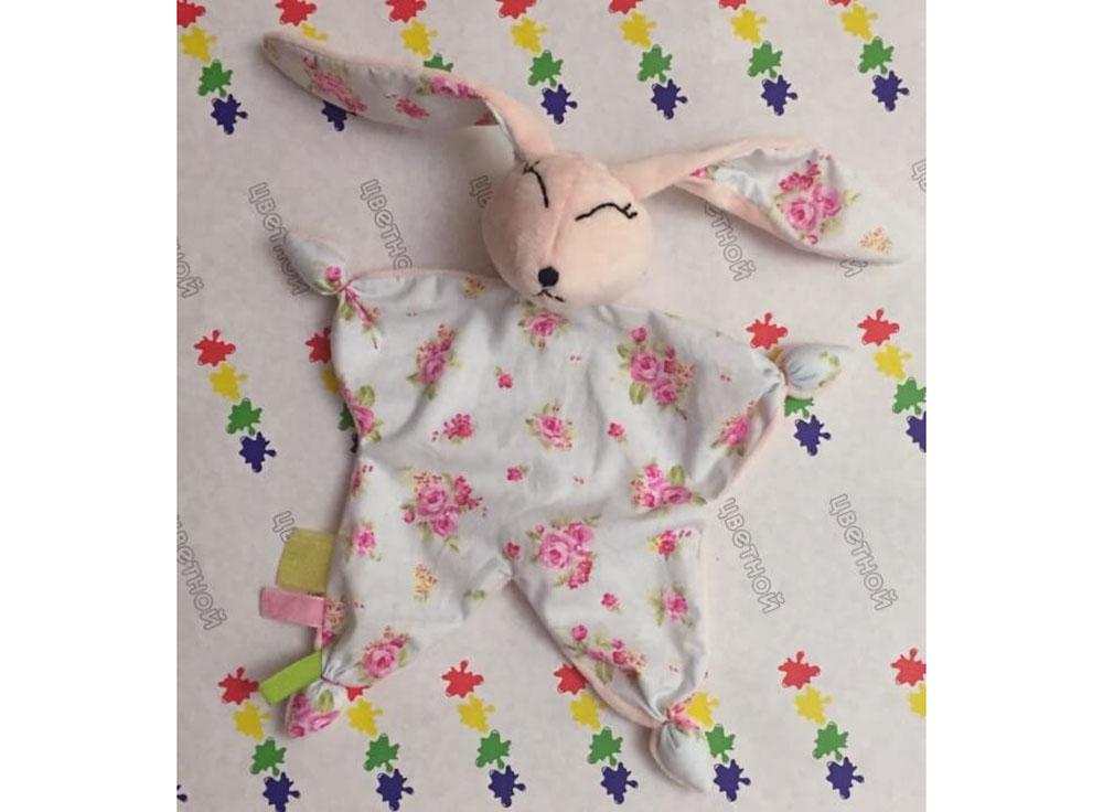Набор «Зайка-Комфортер»Наборы для шитья кукол<br><br><br>Артикул: DIE019<br>Основа: Текстиль<br>Сложность: сложные<br>Размер: Высота готовой игрушки 35 см<br>Техника: Шитье<br>Упаковка: Пакет