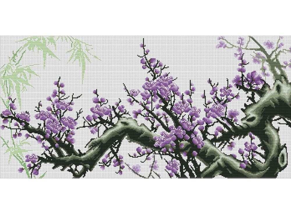 Купить Вышивка крестом, Набор для вышивания «Весенний цвет», Белоснежка
