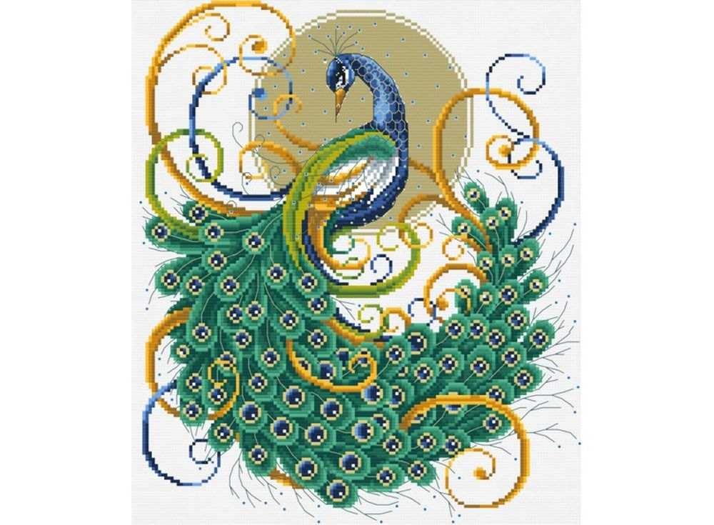 Набор для вышивания «Изумрудный павлин»Белоснежка<br><br><br>Артикул: В-2878<br>Основа: канва Aida 14<br>Сложность: средние<br>Размер: 34x35 см<br>Техника вышивки: счетный крест<br>Тип схемы вышивки: Цветная схема<br>Цвет канвы: Белый<br>Количество цветов: 21<br>Рисунок на канве: не нанесён<br>Техника: Вышивка крестом