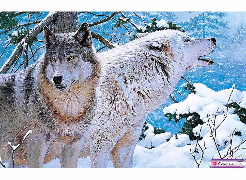 Папертоль «Пара волков»