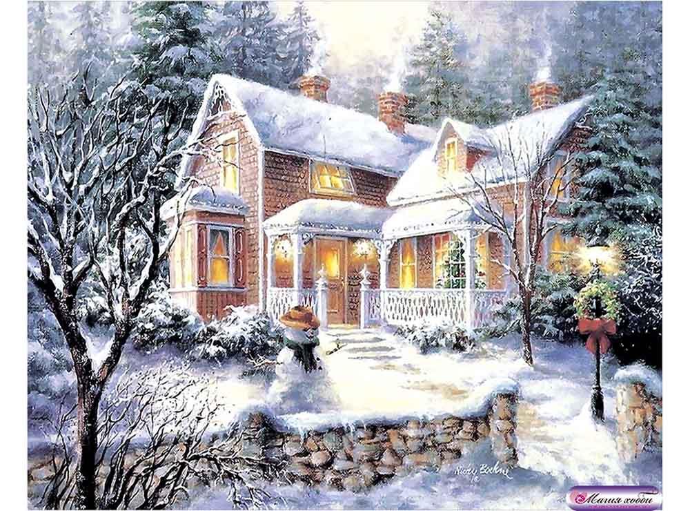 Папертоль «Зимнее утро» Ники Боэм