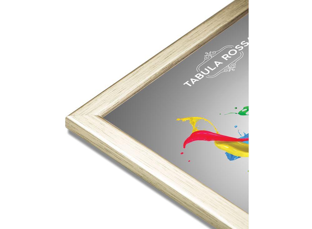 Рамка без стекла «Nimeria»Багетные рамки<br><br><br>Артикул: ТР 5025 БС<br>Размер: 13x18 см<br>Цвет: Золотой<br>Материал багета: Дерево<br>Глубина багета: 8 мм