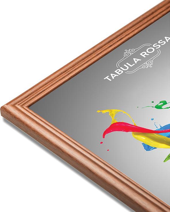 Рамка без стекла «Aurora»Багетные рамки<br><br><br>Артикул: ТР 5283 БС<br>Размер: 18x24 см<br>Цвет: Орех<br>Материал багета: Дерево