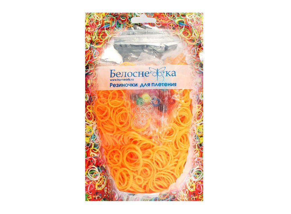 Резиночки для плетенияРезинки для плетения<br><br><br>Артикул: 096-RB<br>Цвет: Персиковый<br>Количество резинок шт: 1000