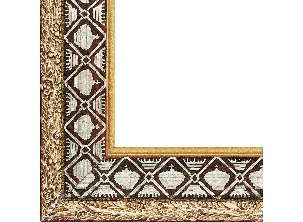 Рамка для картин «Paula»Багетные рамки<br><br><br>Артикул: 1004-BL<br>Размер: 30x40 см<br>Цвет: Коричневый<br>Ширина: 60 мм<br>Материал багета: МДФ