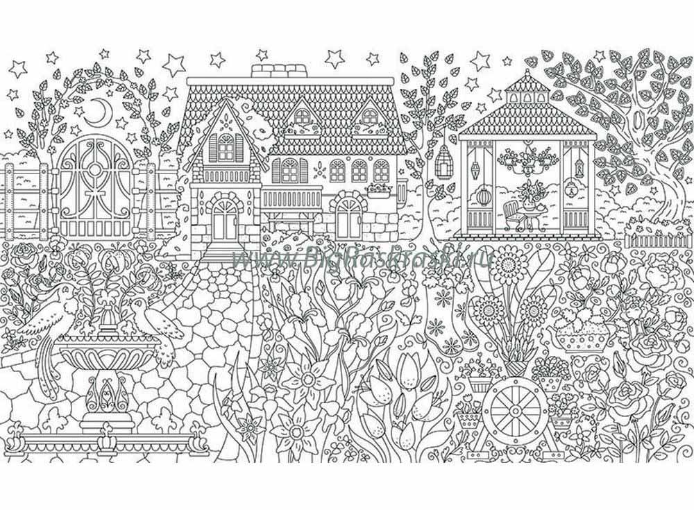 Плакат-раскраска «Домик в цветочном саду»Плакаты-раскраски<br>Отличная идея для совместного творческого досуга - раскрашивание плакатов-раскрасок. Большой размер, четкие контуры, продуманные сюжеты и качественная бумага - это именно об этих новинках среди раскрасок. Подбирайте интересный сюжет в зависимости от возр...<br><br>Артикул: 100817<br>Размер: 60x100 см<br>Материал: Плотная бумага с покрытием