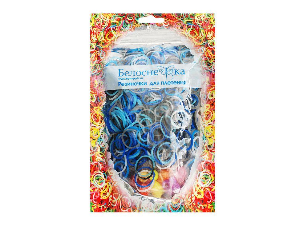 Резиночки для плетения 5 цветовРезинки для плетения<br><br><br>Артикул: 103-RB<br>Количество резинок шт: 1000