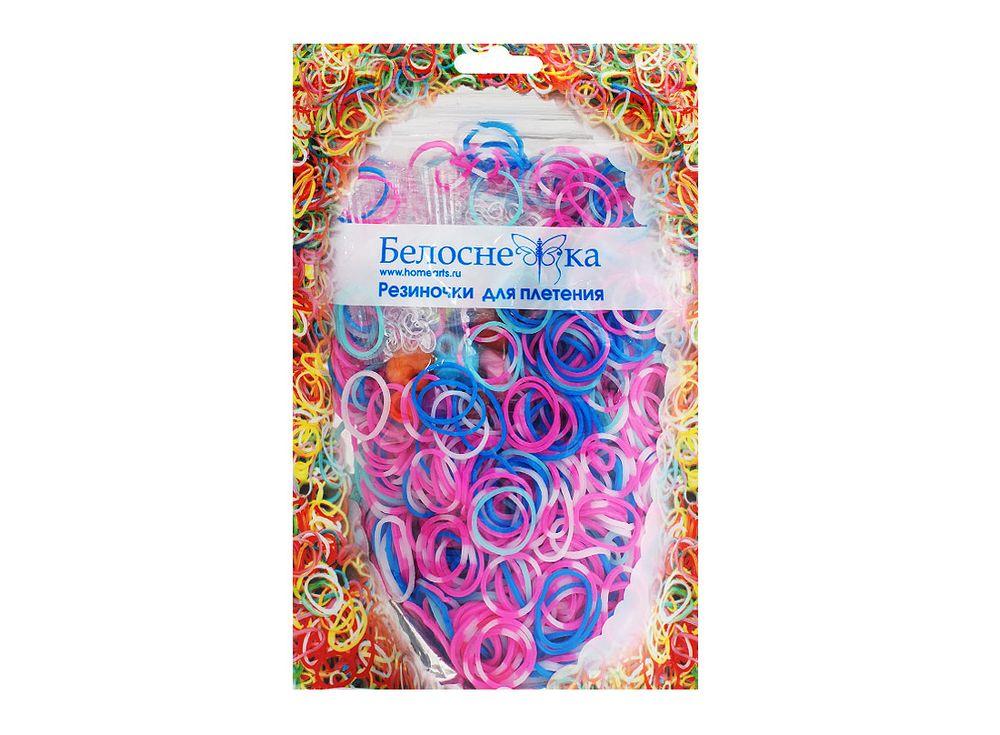 Резиночки для плетения 5 цветовРезинки для плетения<br><br><br>Артикул: 104-RB<br>Количество резинок шт: 1000