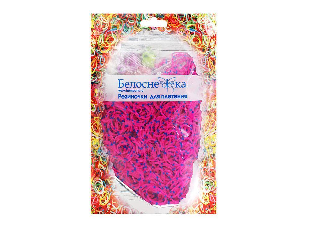 Резиночки для плетения двухцветныеРезинки для плетения<br><br><br>Артикул: 122-RB<br>Цвет: Синий+розовый<br>Количество резинок шт: 1000