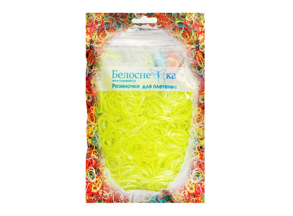 Резиночки для плетения металликРезинки для плетения<br><br><br>Артикул: 135-RB<br>Цвет: Желтый<br>Количество резинок шт: 1000