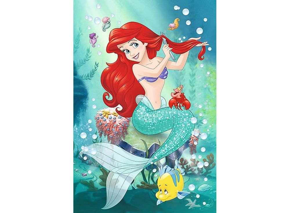 Пазлы «Подводный салон красоты»Trefl<br><br><br>Артикул: 14248<br>Размер: 60x40 см