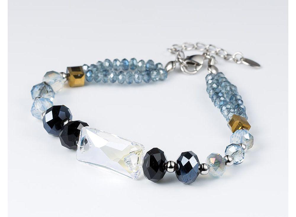 Набор для создания браслета с камнями Сваровски «Волшебство»