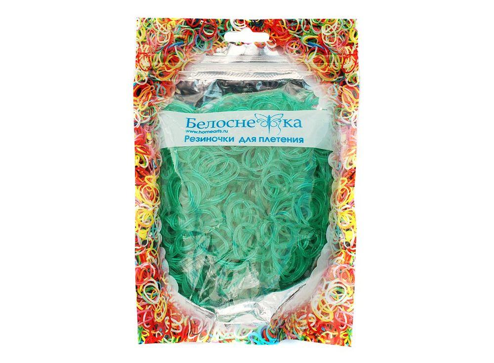 Резиночки для плетения с блесткамиРезинки для плетения<br><br><br>Артикул: 228-RB<br>Цвет: Зеленый<br>Количество резинок шт: 1000