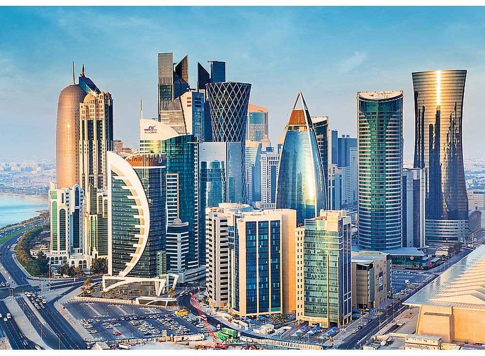 Пазлы «Доха, Катар»Trefl<br><br><br>Артикул: 27084<br>Размер: 96x68 см