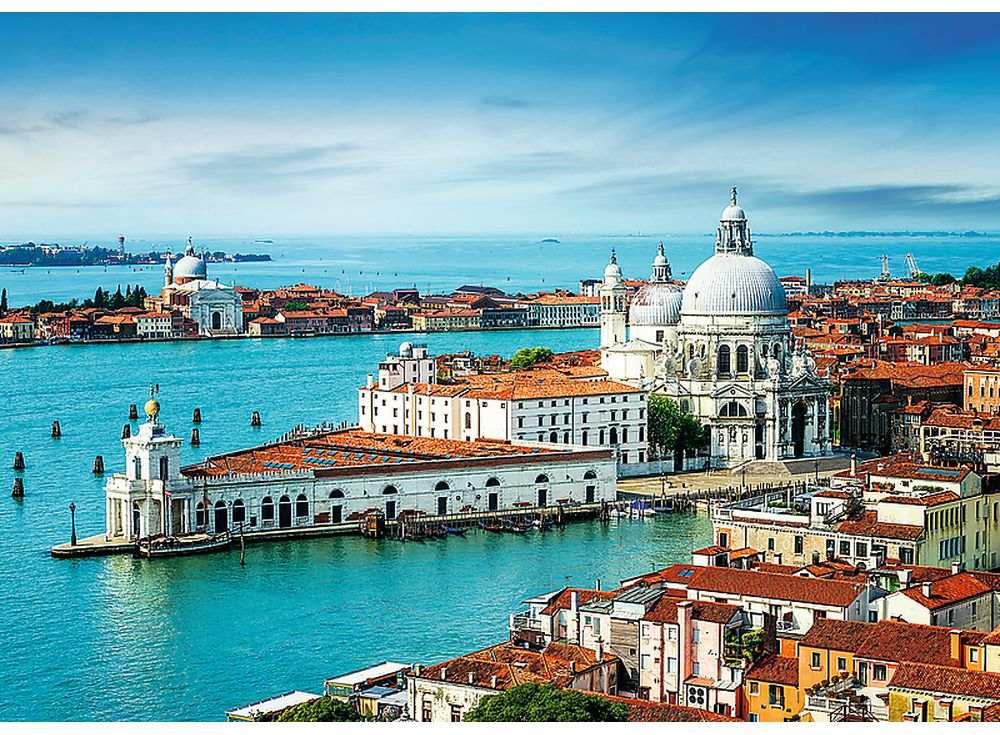 Пазлы «Венеция, Италия»Trefl<br><br><br>Артикул: 27085<br>Размер: 96x68 см