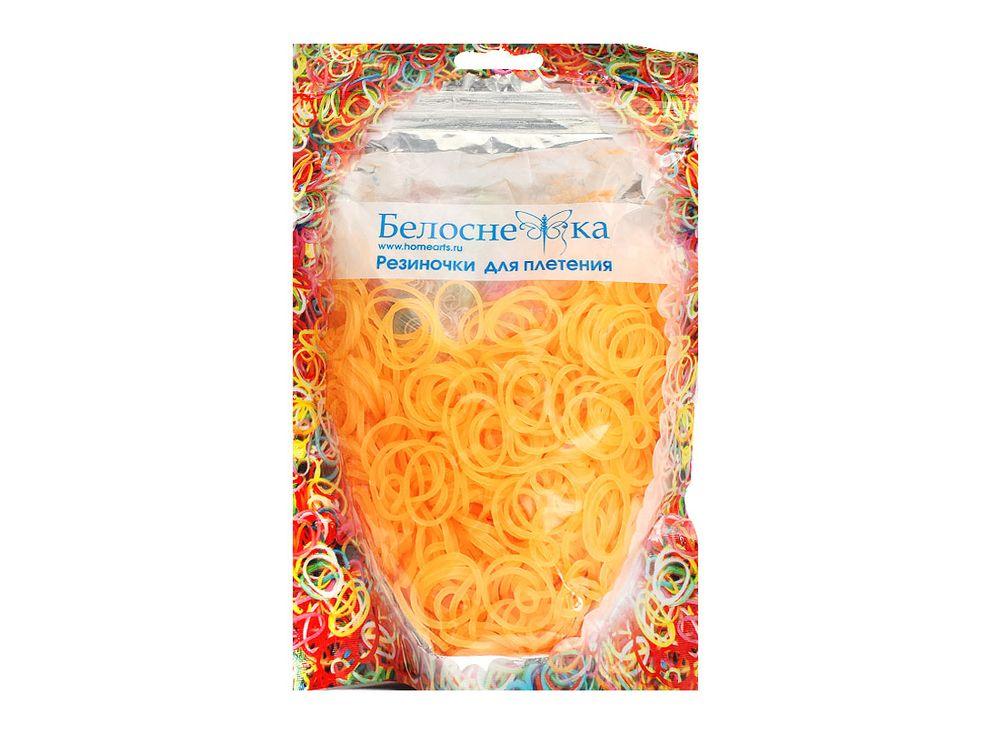Резиночки для плетения неоновыеРезинки для плетения<br><br><br>Артикул: 271-RB<br>Цвет: Бежевый<br>Количество резинок шт: 1000
