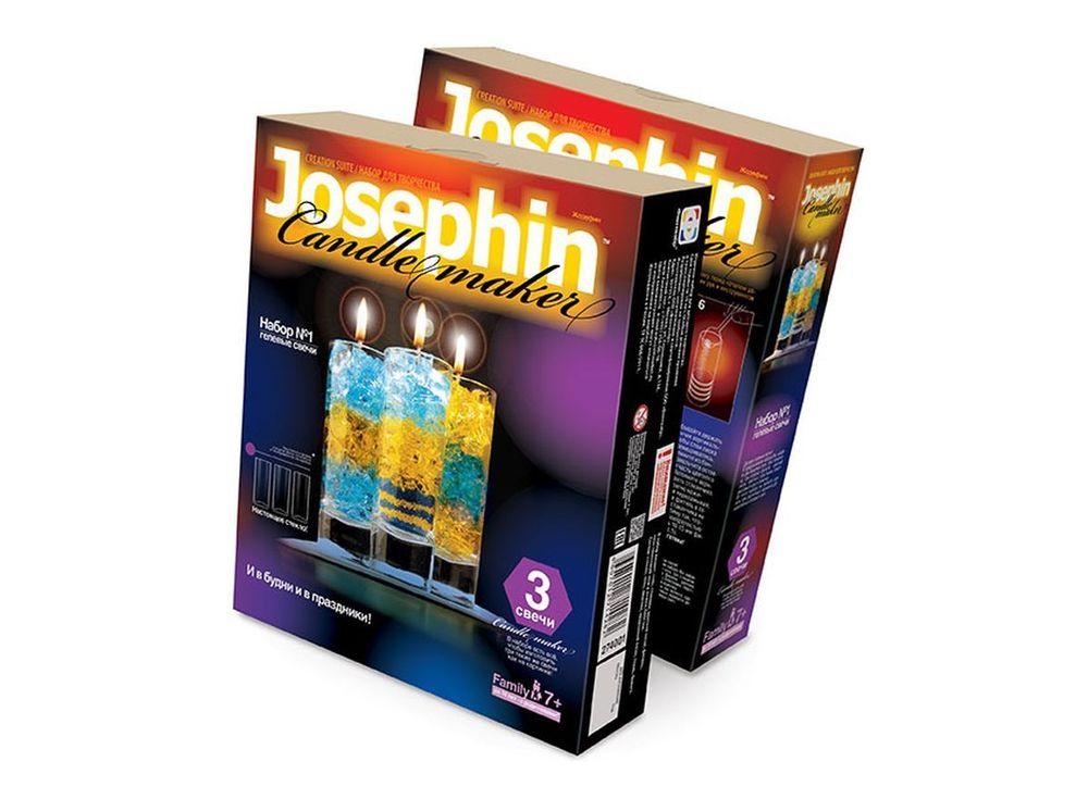 Гелевые свечи «Набор №1»Гелевые свечи своими руками<br><br><br>Артикул: 274001<br>Размер упаковки: 22x18,5x 5 см<br>Возраст: от 7 лет