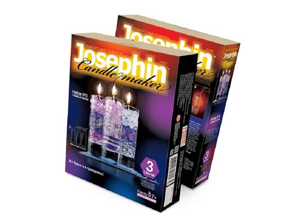 Гелевые свечи «Набор №3»Гелевые свечи своими руками<br><br><br>Артикул: 274003<br>Размер упаковки: 22x18,5x 5 см<br>Возраст: от 7 лет