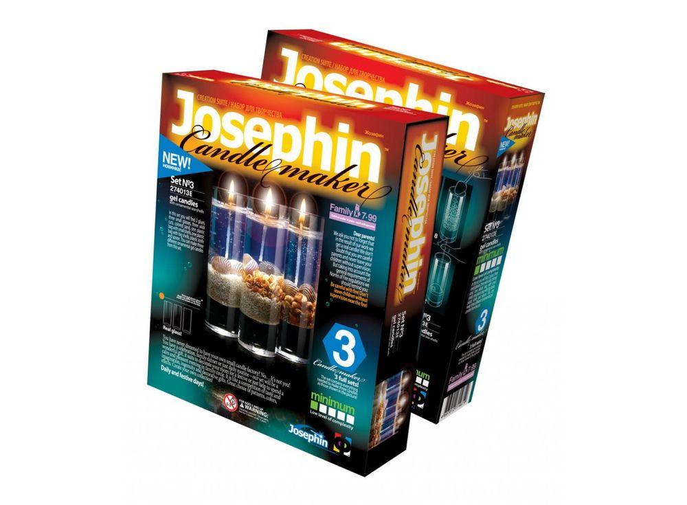 Гелевые свечи с ракушками «Набор №3»Гелевые свечи своими руками<br><br><br>Артикул: 274013<br>Размер упаковки: 22x18,5x 5 см<br>Возраст: от 7 лет