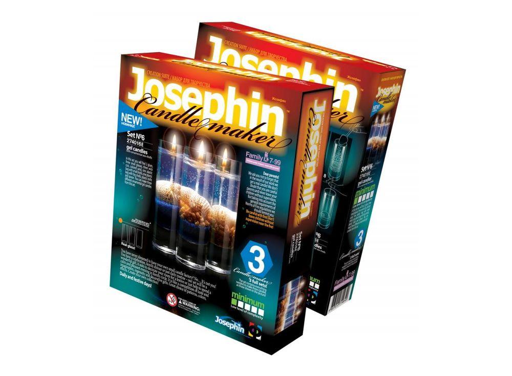 Гелевые свечи с ракушками «Набор №6»Гелевые свечи своими руками<br><br><br>Артикул: 274016<br>Размер упаковки: 22x18,5x 5 см<br>Возраст: от 7 лет