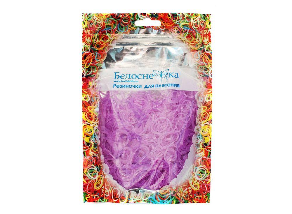 Резиночки для плетения неоновыеРезинки для плетения<br><br><br>Артикул: 278-RB<br>Цвет: Фиолетовый<br>Количество резинок шт: 1000