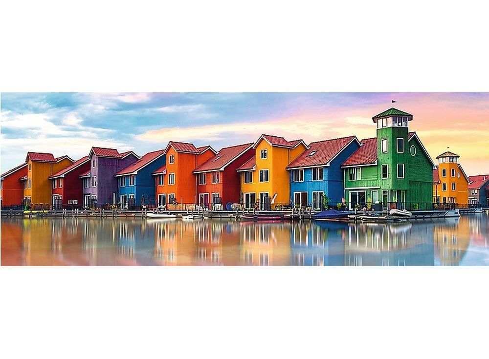 Пазлы «Гронинген, Нидерланды»Trefl<br><br><br>Артикул: 29034<br>Размер: 97x34 см