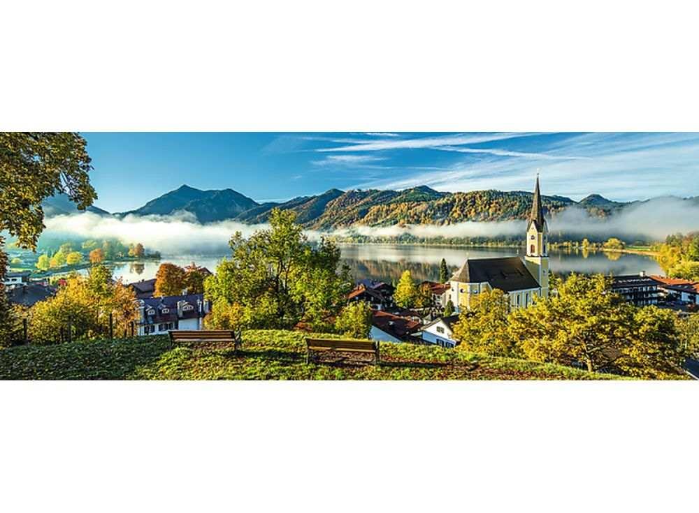Пазлы «На берегу озера Шлирзе»Trefl<br><br><br>Артикул: 29035<br>Размер: 97x34 см