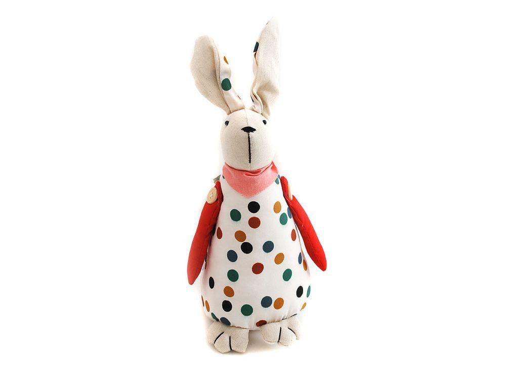 Заяц Ушенька большойИнтерьерные игрушки<br><br><br>Артикул: 3000-BT