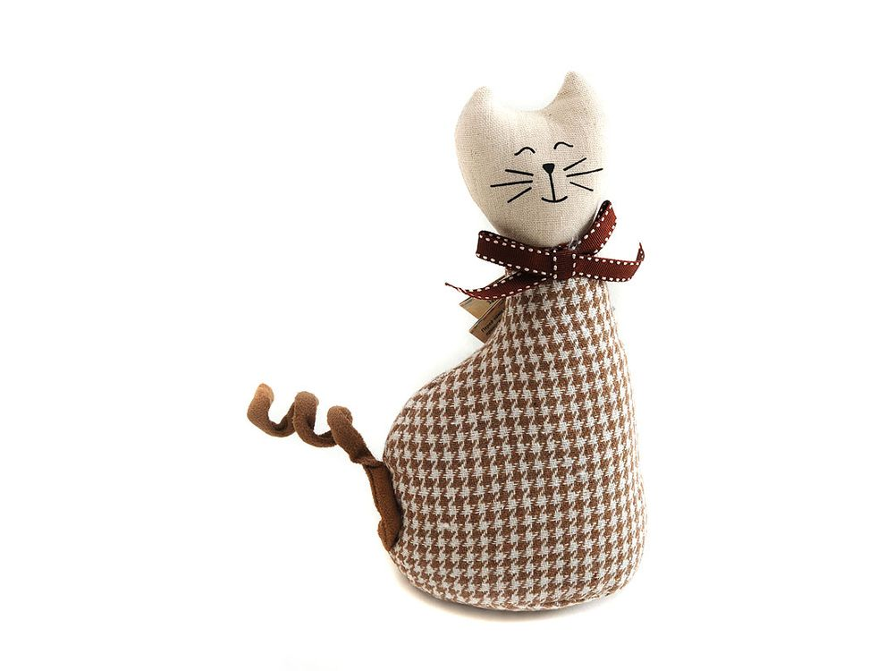 Кошка МурысяИнтерьерные игрушки<br><br><br>Артикул: 3070-BT<br>Размер: 11,5x8x22,5 см