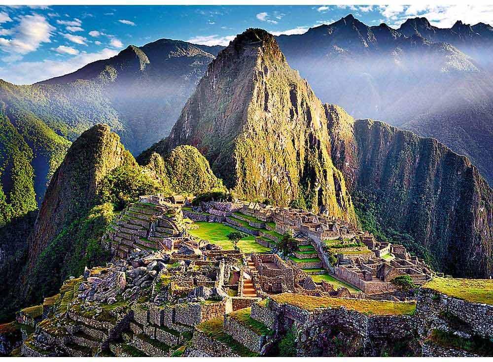 Пазлы «Старинное святилище Мачу-Пикчу»Trefl<br><br><br>Артикул: 37260<br>Размер: 48x34 см