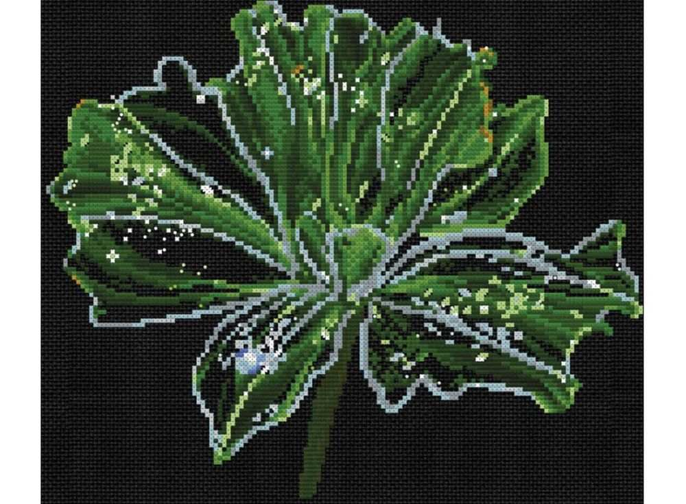 Набор для вышивания «Неоновый цветок»Вышивка крестом<br><br>