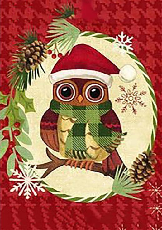 Стразы «Рождество в лесу»Алмазна вышивка Гранни<br><br><br>Артикул: Ag6021<br>Основа: Холст без подрамника<br>Сложность: средние<br>Размер: 27x38 см<br>Выкладка: Полна<br>Количество цветов: 35<br>Тип страз: Квадратные
