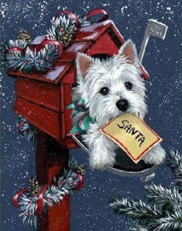 Алмазная вышивка «Рождественская посылка»Алмазная вышивка Гранни<br><br><br>Артикул: Ag6022<br>Основа: Холст без подрамника<br>Сложность: средние<br>Размер: 27x38 см<br>Выкладка: Полная<br>Количество цветов: 28<br>Тип страз: Квадратные