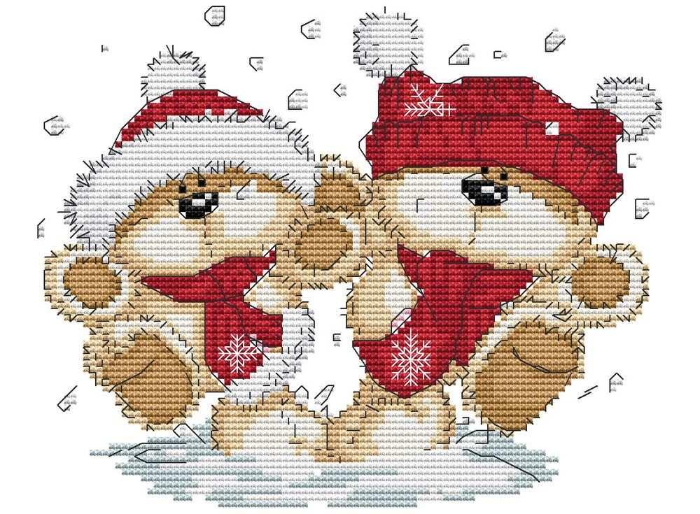 Набор для вышивания «Снежки»